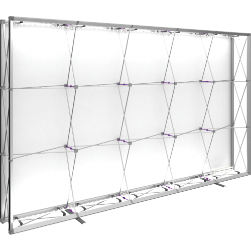 Embrace 12.5ft Backlit Push-Fit Tension Fabric Display