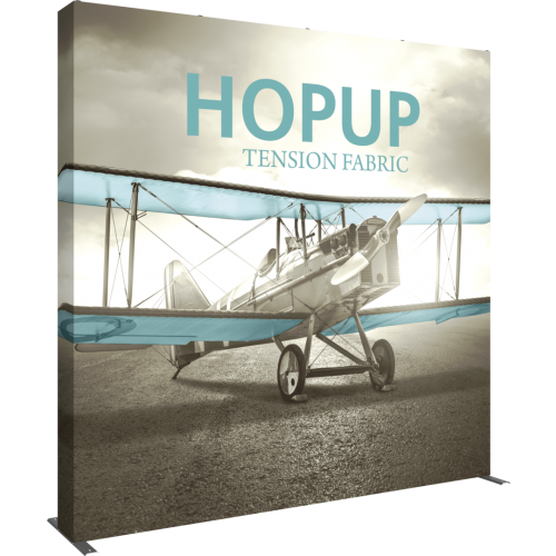 Hopup 10ft Straight Extra Tall Tension Fabric Display
