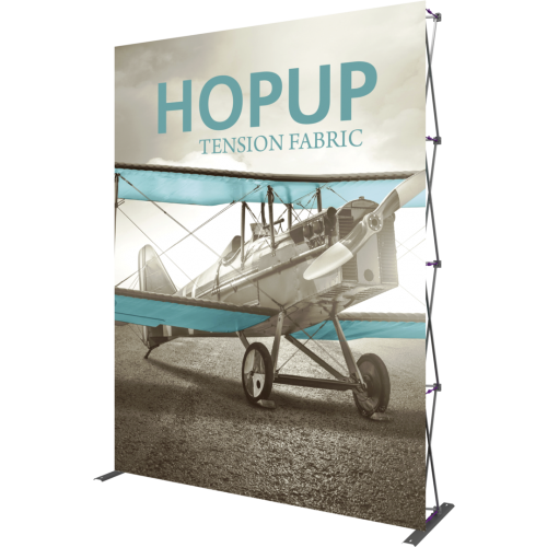 Hopup 7.5ft Straight Extra Tall Tension Fabric Display