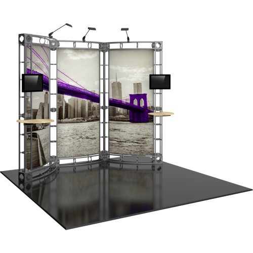Lynx Orbital Express Truss 10ft Modular Exhibit