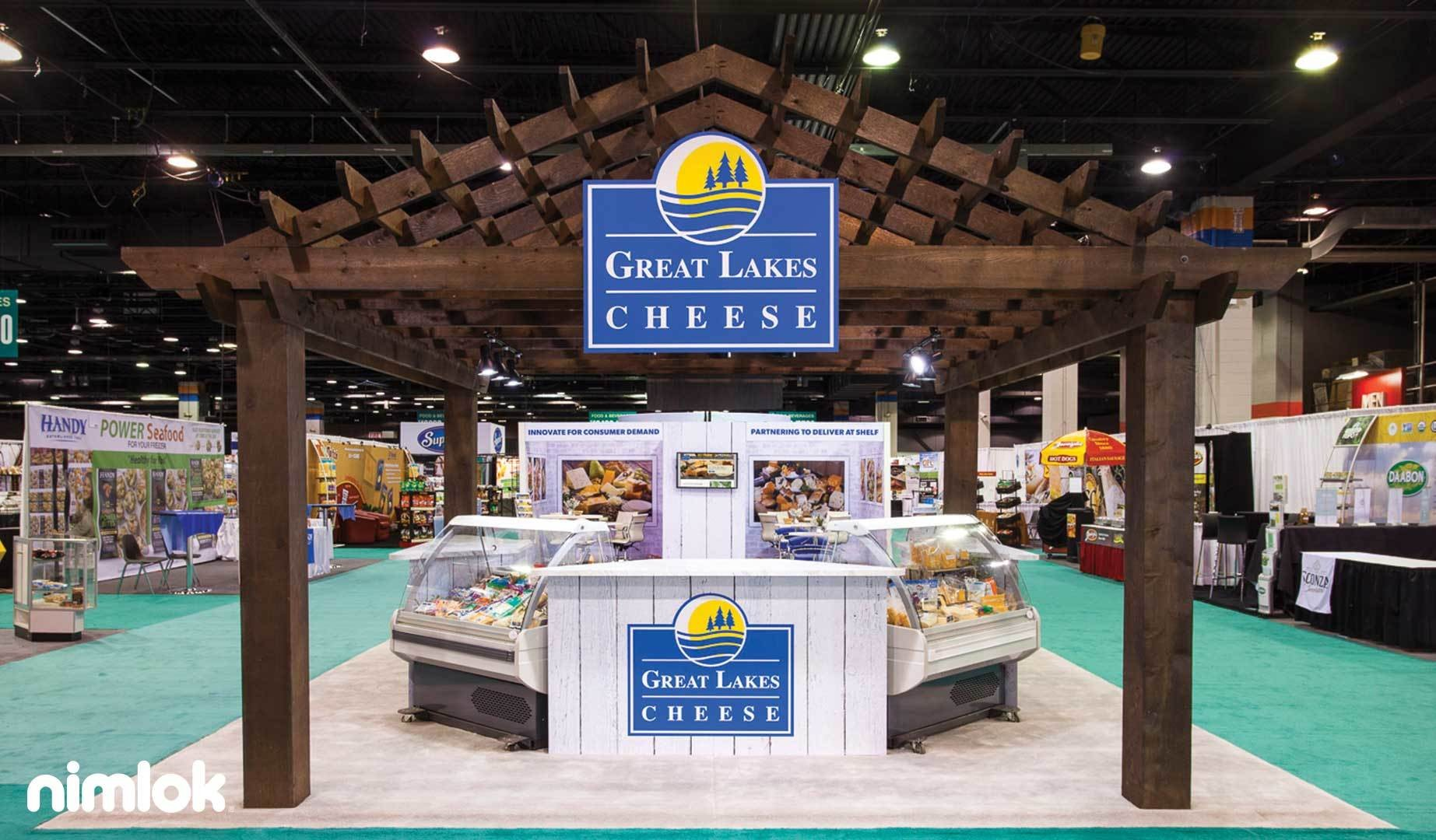 Great Lakes Cheese Co 20x40 Island
